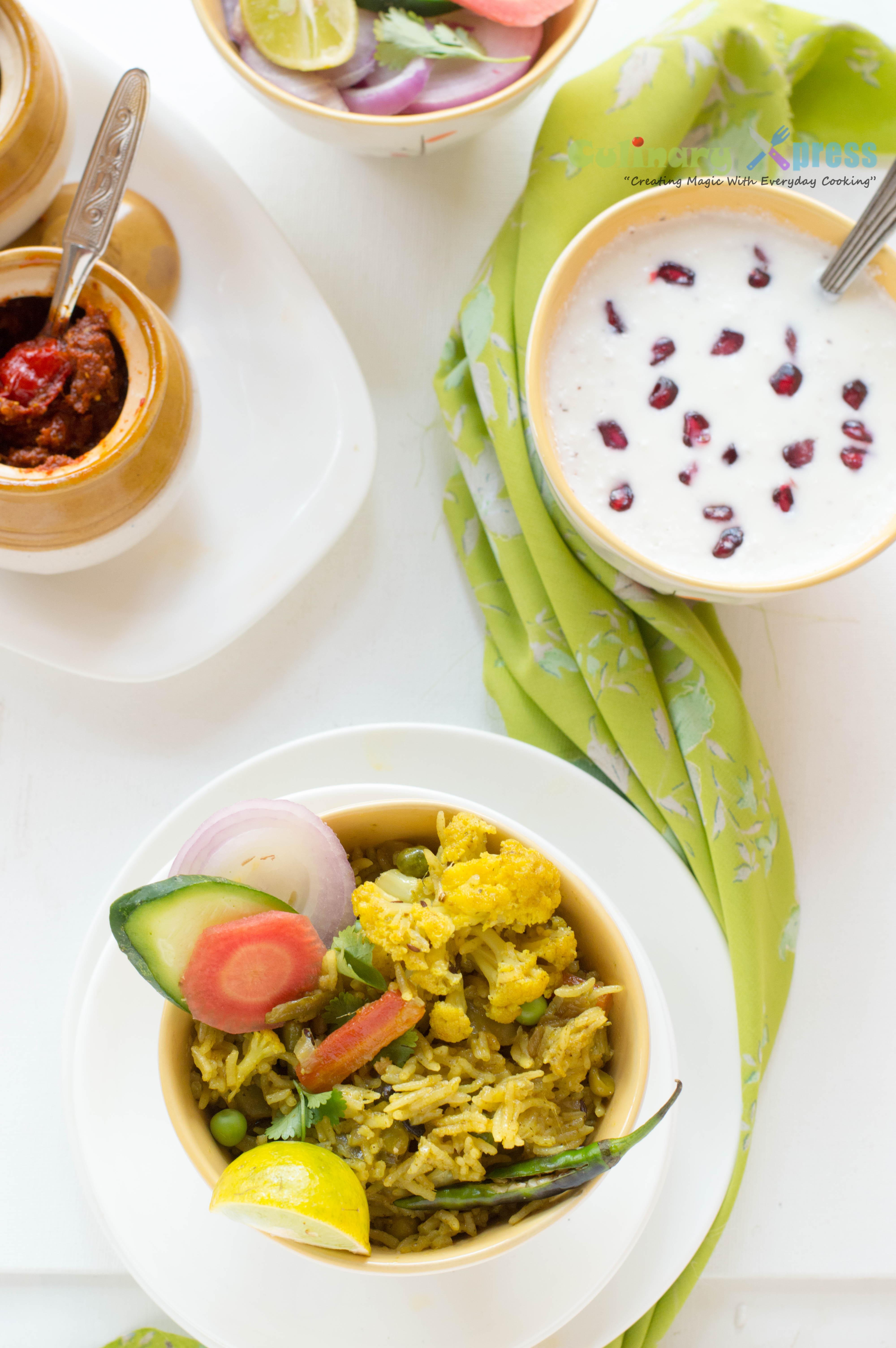 Vegetable Tehari