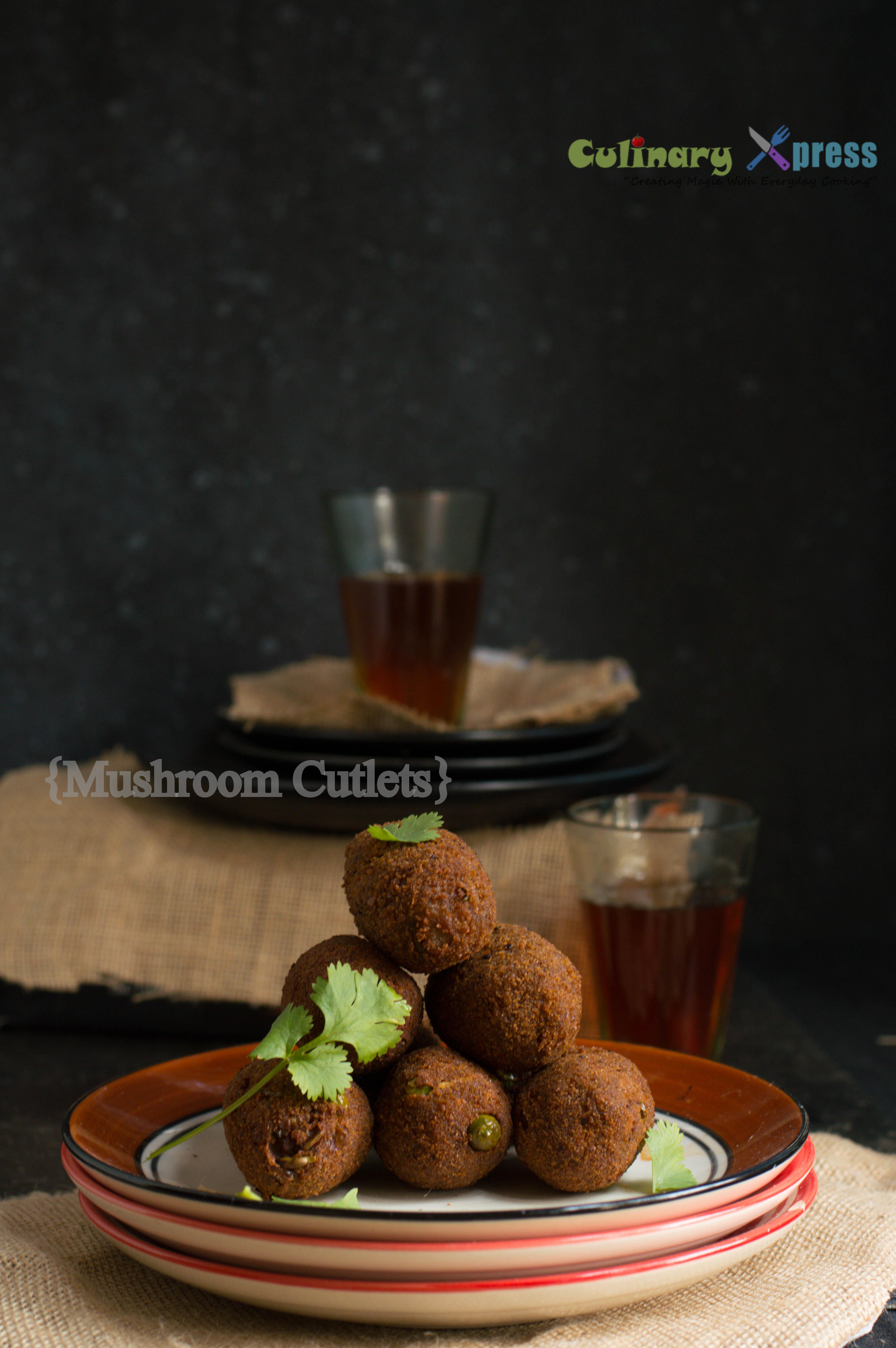 Mushroom Cutlets