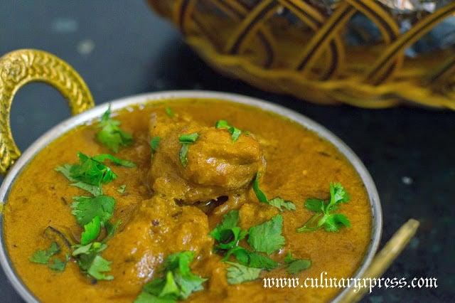 Murgh awadhi korma recipe culinaryxpress for Awadhi cuisine vegetarian